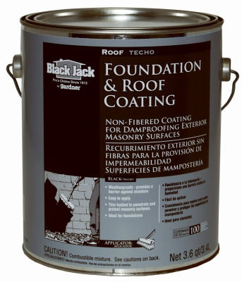 3.6 QT Non-Fibered Roof & Foundation Coating
