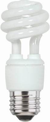 9-Watt Soft White Mini Twist CFL Bulb