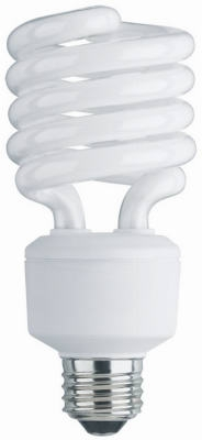 Mini Twist CFL Bulb, Soft White, 26-Watt