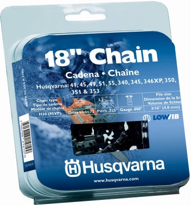 Chainsaw Chain, Narrow Kerf, 18-In.