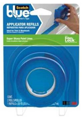 Blue Edge Lock Painter's Tape Applicator Refill, 1-In. x 30-Yd.