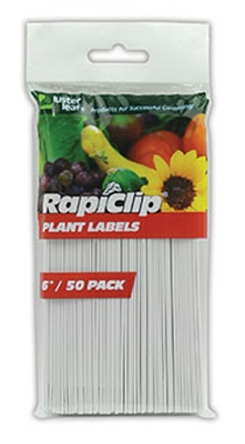 Plant Labels, 6-In., 50-Pk.