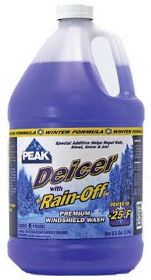 Windshield De-Icer With Rain Off, -25Degree, 1-Gal.