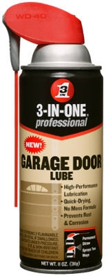 Garage Door Lube With Smart Straw, 11-oz.