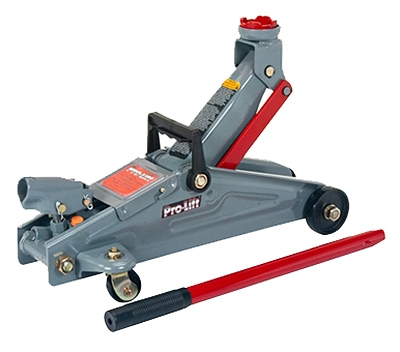 2-Ton Hydraulic Floor Jack, Lift Range 5-3/8 - 13-5/8-In.