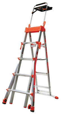Select Step Multi-Position Stepladder, 5 to 8-Ft.