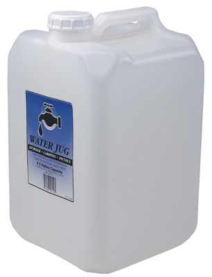 Water Jug, Portable, 4.5-Gals.