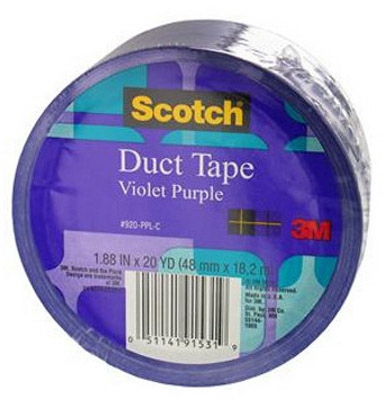 Duct Tape, Purple, 1.88-In. x 20-Yds.