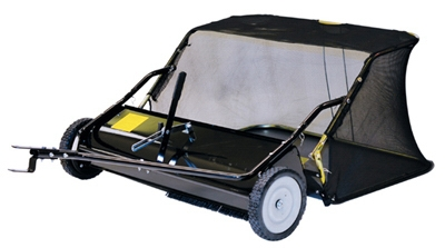 Tow-Behind Lawn Leaf Sweeper, 12-Cu. Ft. Capacity, 38-In.