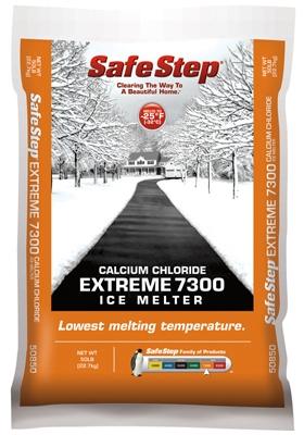 Extreme 7300 Ice Melter, Calcium Chloride, 50-Lb. Bag
