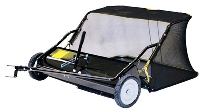 Tow-Behind Lawn Leaf Sweeper, 15-Cu. Ft. Capacity, 48-In.