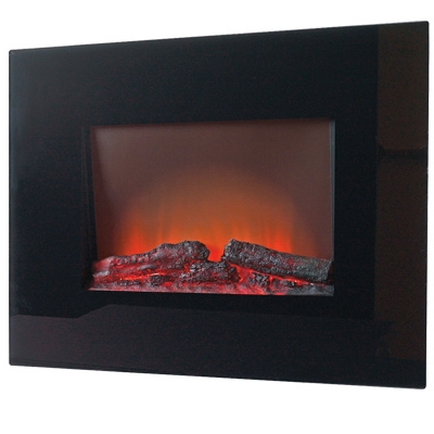 Electric Fireplace, Wall-Mount, 26-In. Firebox