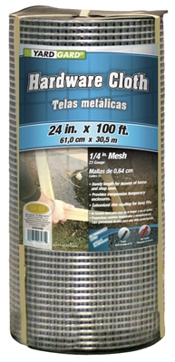 24-In. x 100-Ft. Galvanized Hardware Cloth