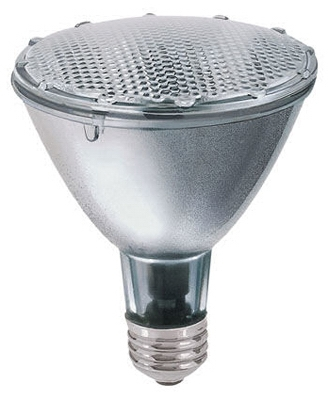 Flood Light Bulb, Halogen, Long Neck, Indoor, Par 30, 38-Watt