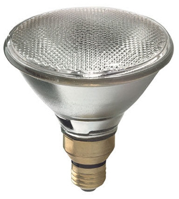 Flood Light Bulb, Halogen, Indoor/Outdoor, Par 38, 90-Watt
