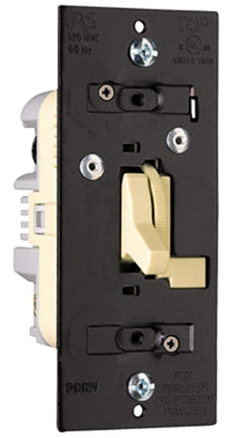 3-Way Preset Dimmer, Ivory, 700-Watt