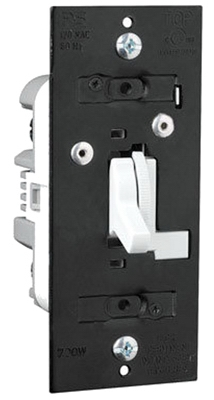 3-Way Preset Dimmer, White, 700-Watt