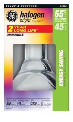 Halogen Dimmable Bulb, 45-Watt