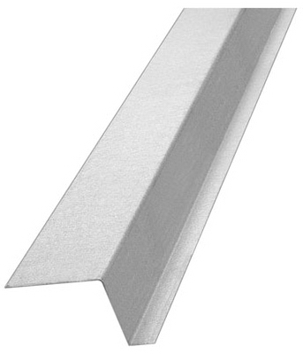 Z-Bar Flashing With 2-In. Backleg, Galvanized Steel, 1-1/2-In. x 10-Ft.