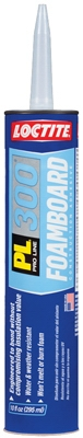 PL 300 Foam Board Adhesive, 10-oz. Cartridge