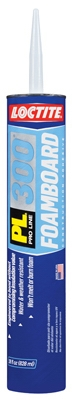 PL 300 Foam Board Adhesive, 28-oz. Cartridge