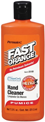 Fast Orange Pumice Hand Cleaner, 7.5-oz.
