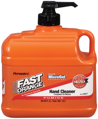 Fast Orange Pumice Hand Cleaner, 64-oz.