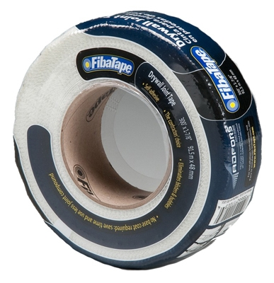 Drywall Joint Tape, Fiberglass, White, 1-7/8-In. x 300-Ft.