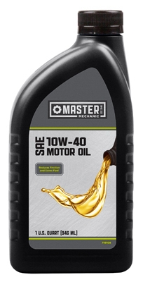Motor Oil, 10W40, 1-Qt., Must Purchase In Quantities of 12
