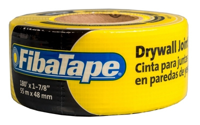 Drywall Joint Tape, Fiberglass, Yellow, 1-7/8-In. x 150-Ft.