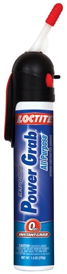Power Grab Express Gap-Filling Interior Construction Adhesive, 6.2-oz.