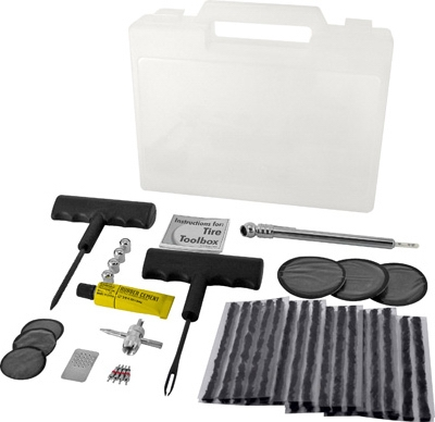 Tire Repair Tool Box, 47-Pc.