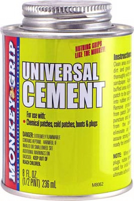 Rubber Cement, 1/2-Pt.
