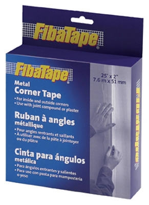 Metal Corner Tape, White, 2-In. x 25-Ft. DIY Box