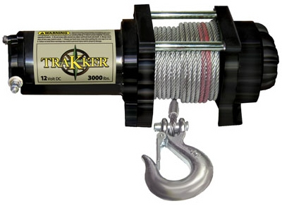 Trakker Electric Winch, 3,000-Lb.