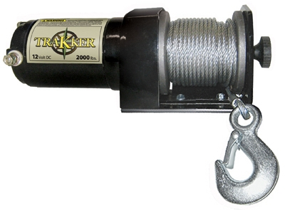 Trakker Electric Winch, 2,000-Lb.