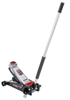 Speedy-Lift Garage Jack, 3-1/2-Ton