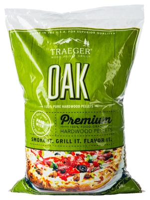 Oak Barbeque Pellets, 20-Lbs.