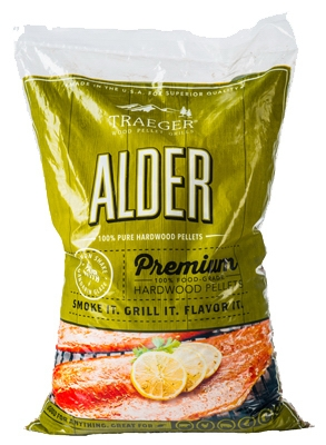 Alder Barbeque Pellets, 20-Lbs.
