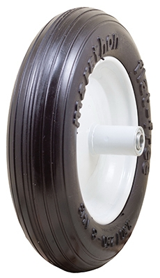13-In. Diameter Flat-Free Residential Wheelbarrow Tire