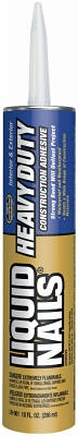 Heavy-Duty Construction/Remodeling Adhesive, 10-oz.