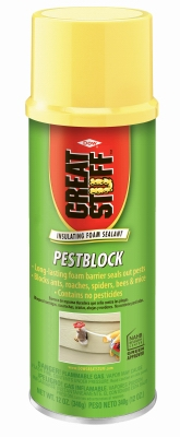 Pestblock Insulating Foam Sealant, 12-oz.