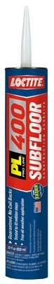 PL 400 Subfloor Adhesive, Heavy-Duty, 28-oz. Cartridge