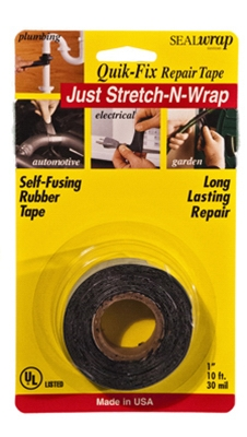 Self-Fusing Repair Tape, 1-In. x 10-Ft.