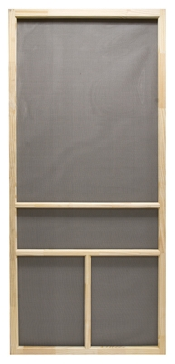 Screen Door, Wood, 32 x 80-Inch
