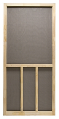 Screen Door, Wood, 30 x 80-Inch