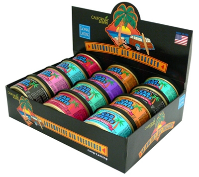 California Car Scents 12-Unit Counter Display/Assorted