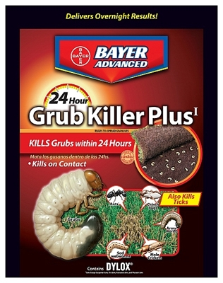 Advanced 24-Hour Grub Control With Dylox, 20-Lbs., Covers 10,000-Sq. Ft.