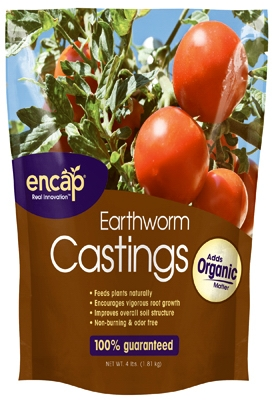 Earthworm Castings, 4-Lb.