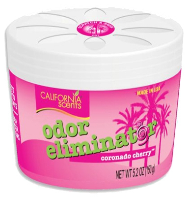 Car Air Freshener, Odor Eliminator, Coronado Cherry, 5.2-oz. gel